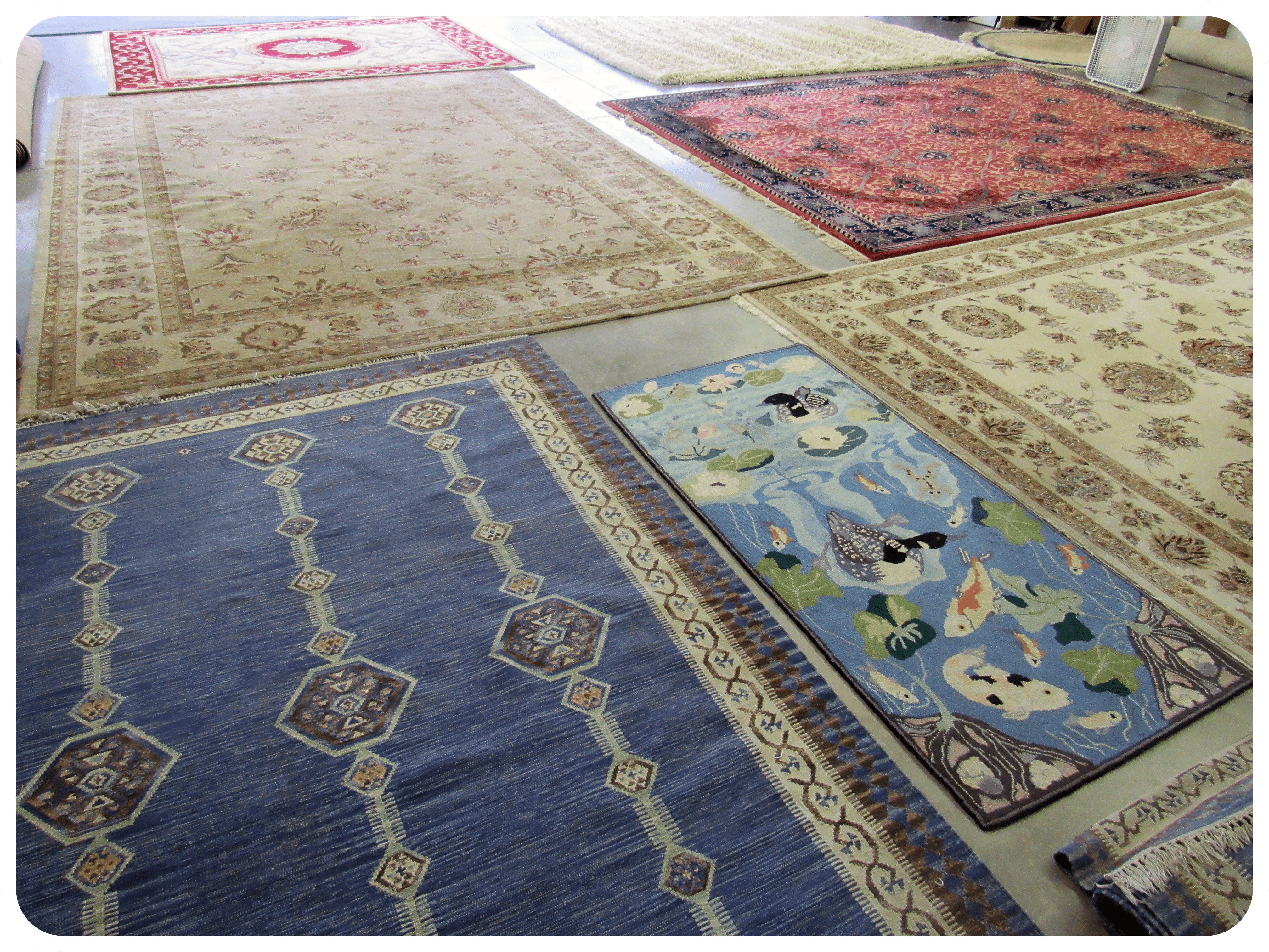 Oriental Rug Cleaning - Carpet Cleaning